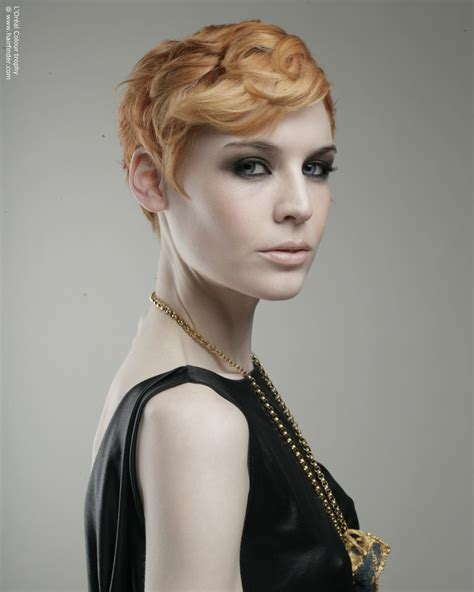 1920s short hairstyles for women short 1920s flapper girl haircut with a hair colour that