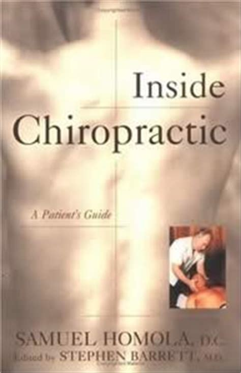 the chiropractor books chiropractic controversies heavily referenced