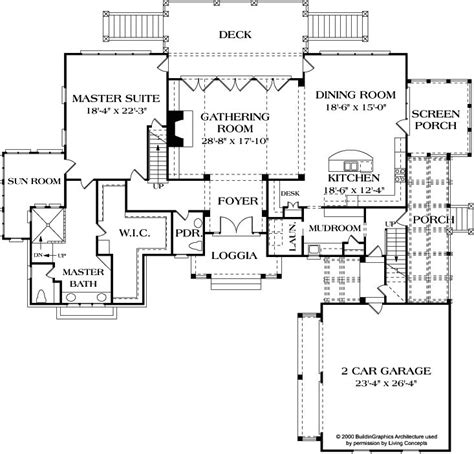 cottage open floor plan first floor plan large open cottage inspiring house