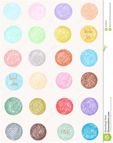 pastel circle pattern vector pattern in pastel colors round shapes pattern