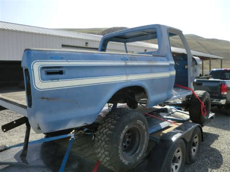 1976 ford f150 explorer 1976 ford f150 4x4 swb rust free project thousands spent