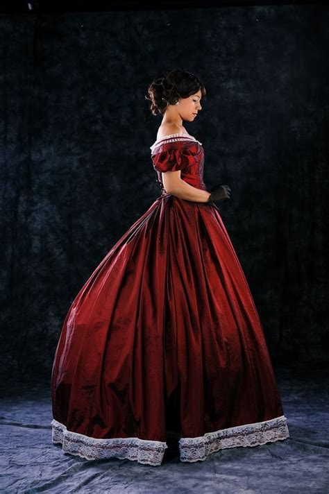 Handmade Victorian Ball Gown by Tailor of Two Cities