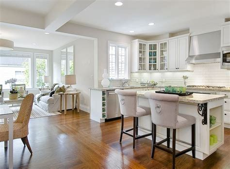Open Kitchen Floor Plans With Island by Tamara Mack Design Kitchens U Shaped Kitchen Open