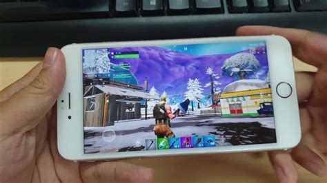 test game fortnite  iphone   youtube