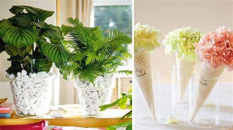 decorar interiores con flores ideas para decorar con plantas y flores