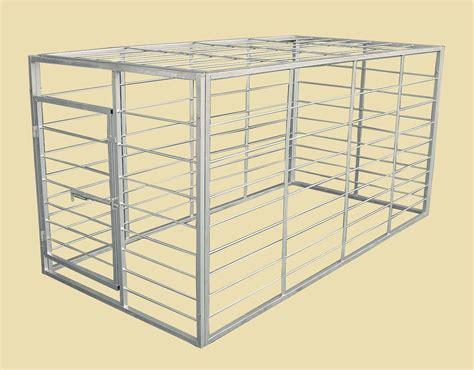Livestock Rack For by Loading Hauling D S Livestock Equipment