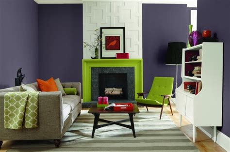 plum living room sherwin williams 2014 color of the year exclusive plum