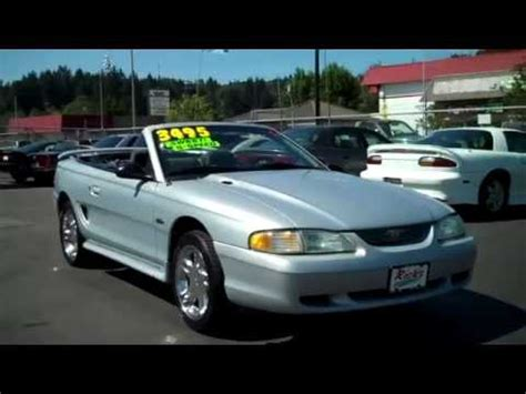 1996 ford mustang gt convertible for sale 1996 ford mustang gt convertible sold