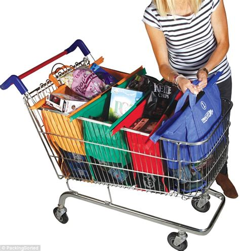Grab Tote Bag Shopper Shopping Tas Keranjang Belanja Lipat Organizer boodschappentas trolley bags scouters