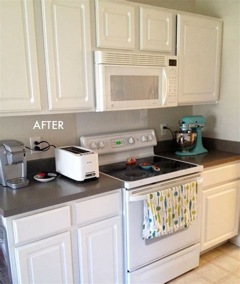 painting kitchen countertops decor pinterest