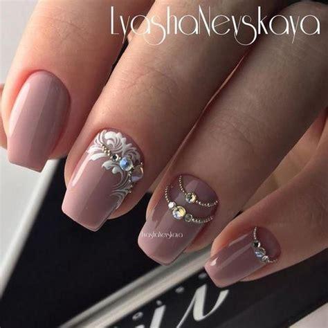Rhinestone Nail Designs