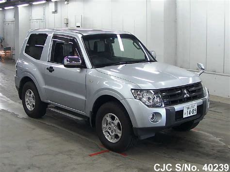 mitsubishi pajero 2006 2006 mitsubishi pajero silver for sale stock no 40239