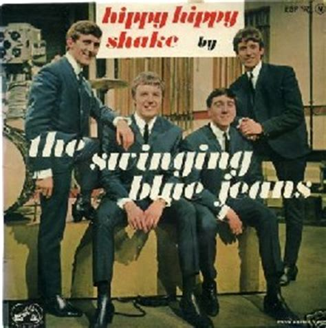 swinging blue jeans hippy hippy shake the greatest french 60 s ep s