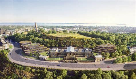 Landscape Architecture Edinburgh Calton Hill Hotel E Architect