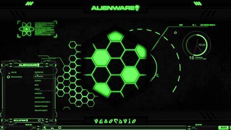 alienware eclipse green premium theme  windows   tsp alienware eclipse icon pack