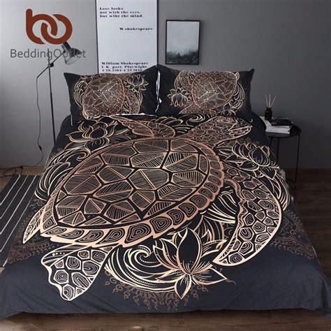 tortoise bedding beddingoutlet turtles bedding set duvet animal golden