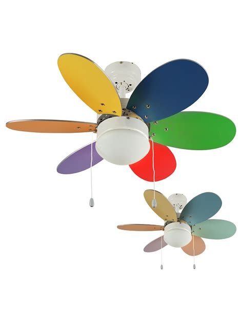multi colored ceiling fan multi colored ceiling fan for the style of your rooms