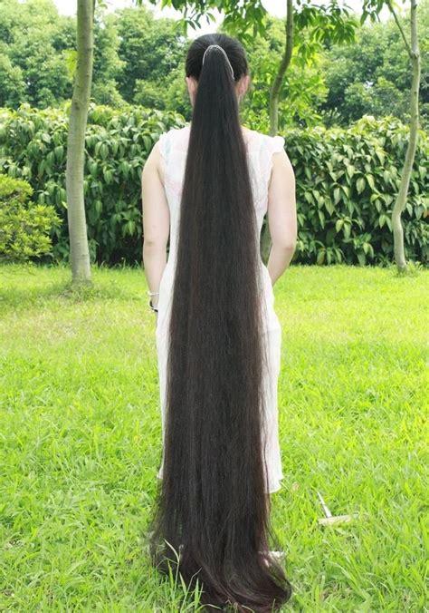 Very Long Floor Length Hair | fairy tale floor length hair women hair pinterest