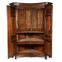Rare french corner armoire circa 1840 fo 72 antique warehouse