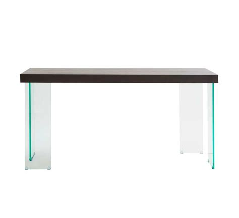 Contemporary Console Tables Contemporary Console Table With Glass Legs Carlo Hallway