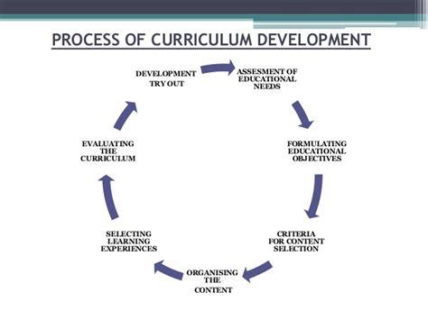 pattern of curriculum organization curriculum development