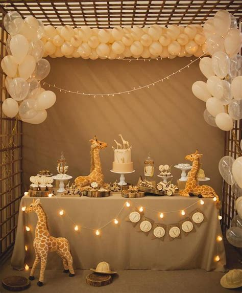 themed baby shower decorations best 25 safari theme baby shower ideas on
