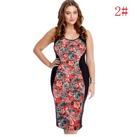 dress wanita big size s curl plus size women black body dress fitted long