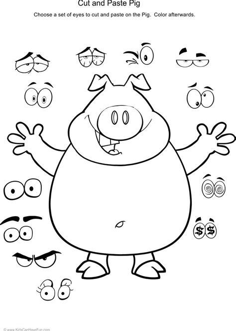 kindergarten activities cut and paste 80 best cut and paste worksheets activities for preschool