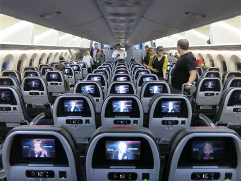 no of seats in coach what is american airlines 787 economy like