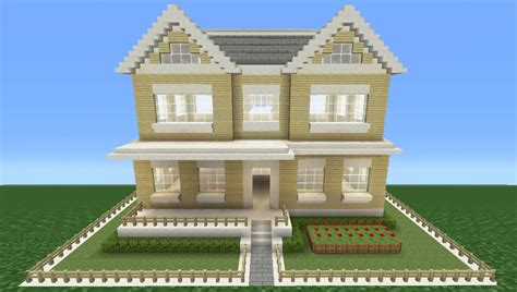 minecraft tutorial how to make a suburban house 5