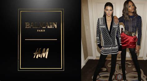 The Next Hm Designer by Balmain Is H M S Next Designer Collaboration