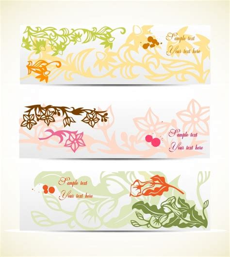design banner elegant elegant floral banner background vector free vector in