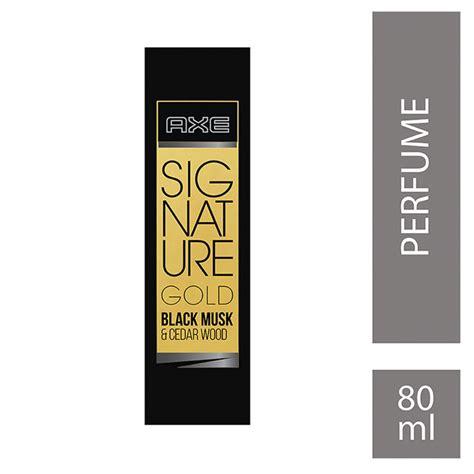 Parfum Axe Black Gold axe signature gold black musk cedar wood perfume 80 ml