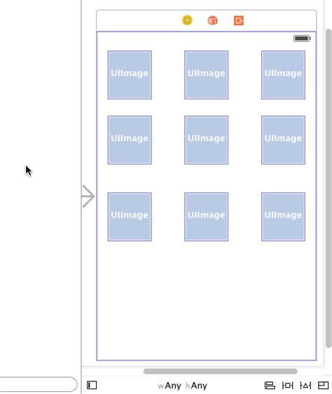 top layout guide constraint ios creating a 3x3 grid with auto layout constraints