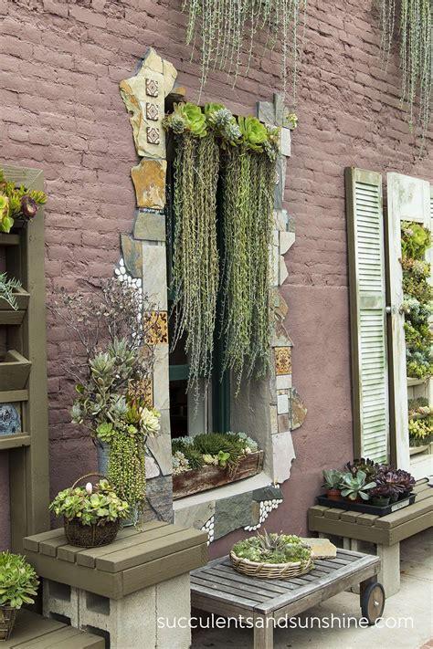 succulents   arranged    clever ways