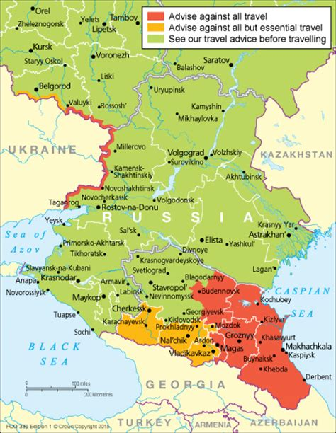 map of south russia travel advisory index maps encompassing travel safety