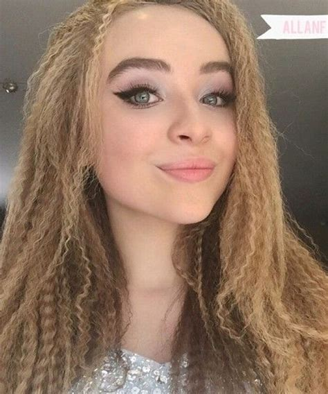 Cc 1807 Top Black Sabrina sabrina carpenter hair style my