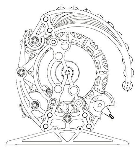broken circles coloring book 27 beautiful unique broken circle designs to color books engineering the 10 000 year clock ieee spectrum