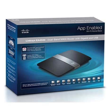 Wifi Linksys Ea4500 cisco linksys ea4500 price specifications features
