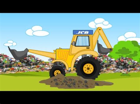 jcb jcb for children jcb jcb for children jcb and garbage trucks videos for