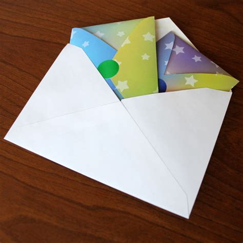 Origami Out Of Post It Notes - post it note origami envelope crafts