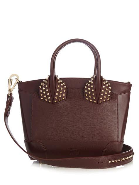 lyst christian louboutin eloise small leather cross bag