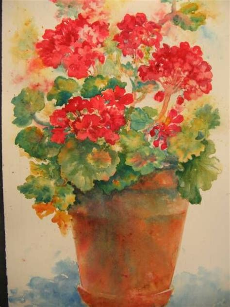 drawings of geraniums view of studio house from river in october geranium