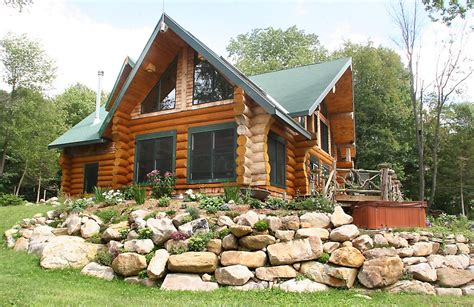 Madera Cabins by 2800 Sqft Luxury Log Cabin 171 The Log Builders