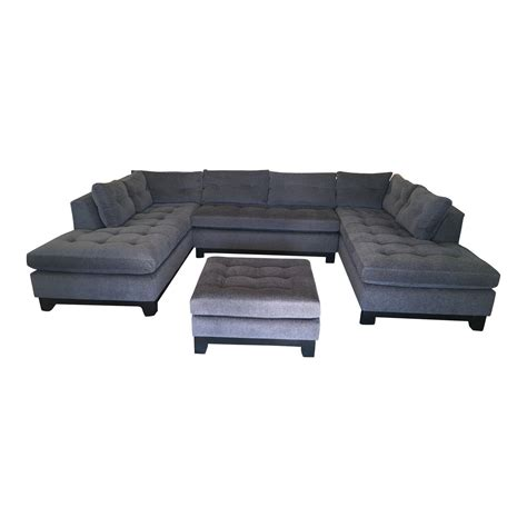 dune sectional arhaus dune sectional ottoman design plus gallery