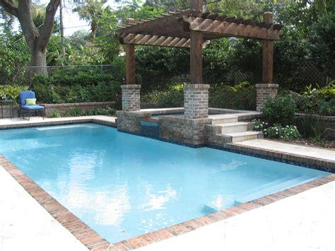 covered pools orlando pool builders birck paver patios outdoor
