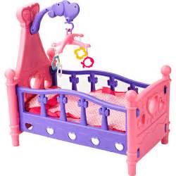 Walmart Baby Doll Crib Badger Basket Hearts Doll Crib With Pillow Blanket And Mobile Play Set Walmart