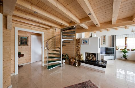 immagini di interni di guarda le foto degli interni delle in legno rubner