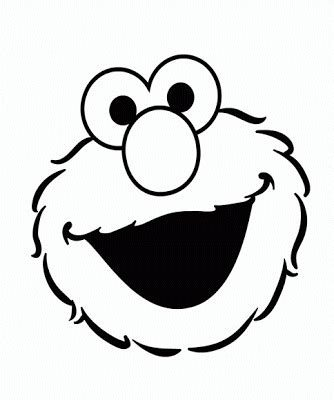 elmo face coloring page elmo s song