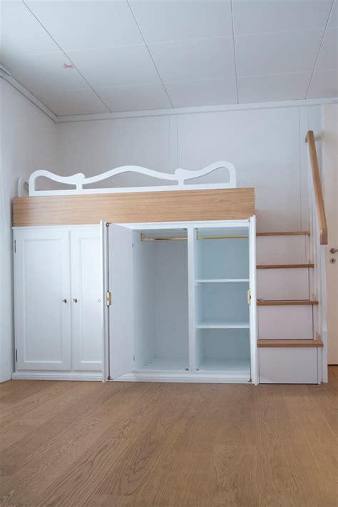 letto con armadio sotto letto matrimoniale a soppalco con armadio sotto idee